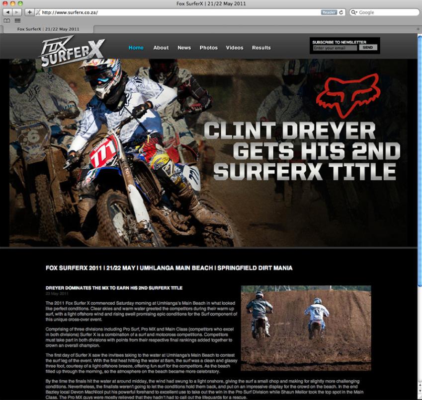 Portfolio image for FOX Surfer X