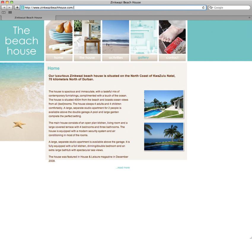 Portfolio image for The Beach House