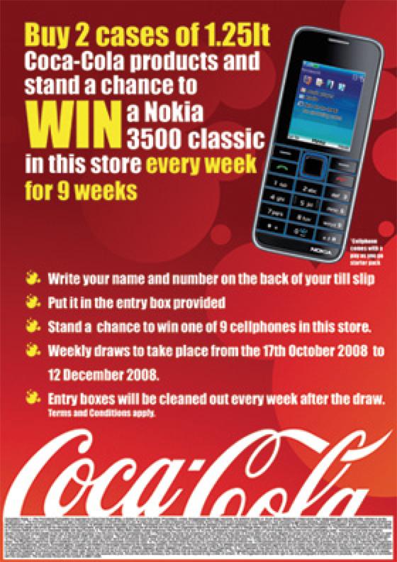 Portfolio image for Coca-Cola (campaign 1)