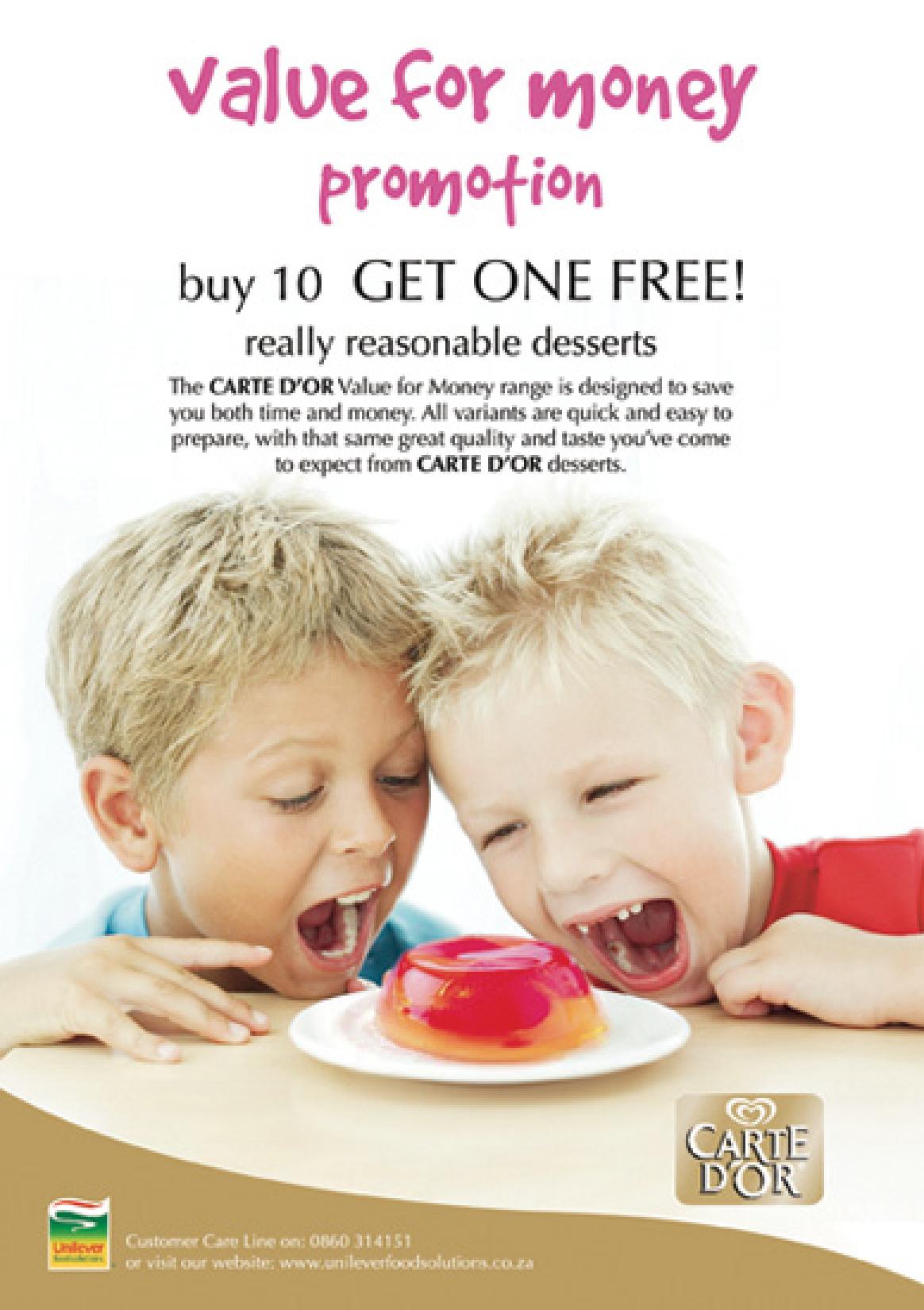 Portfolio image for Unilever (campaign 2)