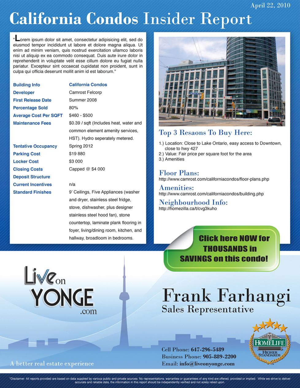 Portfolio image for Frank Farhangi