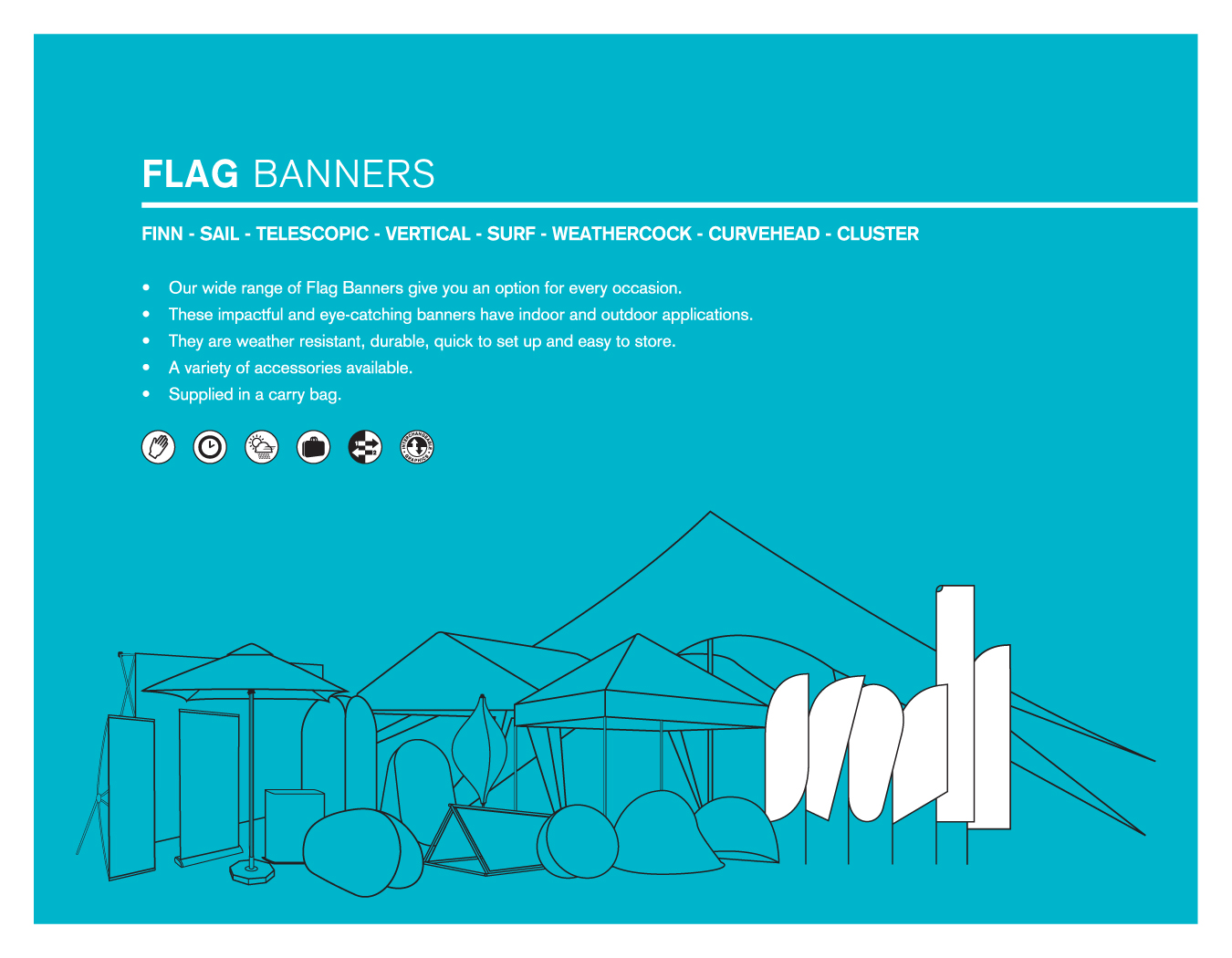 Portfolio image for BFBD Banners - Flag Banners