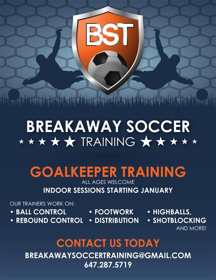 Portfolio image for Breakaway Soccer Training
